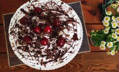 Veganer Schneewittchenkuchen